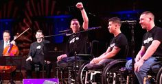 Wounded Warriors Sing Stunning Rendition Of 'Hallelujah' via LittleThings.com