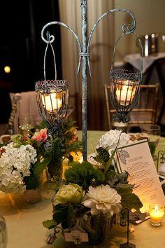 lantern centerpiece | Art-Nouveau-Lantern-Centerpiece