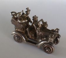 VINTAGE STERLING SILVER CHARM BEVERLY HILLBILLIES OLD CAR