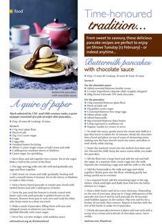 ~ Time-honoured tradition ~ Perfect pancake recipes for Shrove Tuesday #locallife #Farnham #Surrey #food #pancakes #recipes #ideas #inspiration #delicious #sweet #savoury