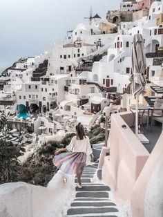 SANTORIN Une semaine en Grèce : Athènes & Santorin! - JUNE Sixty-Five - Blog Mode