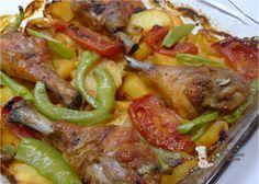 Fırında Patates Tavuk Nasıl Yapılır