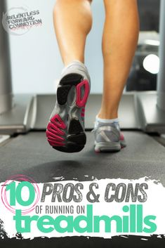 Often I have runners ask me if it's OK to do the majority of their training on a treadmill, rather than outside on the road or on trails.  Treadmills are definitely a great tool when  utilized properly...but they also have a few downsides as well. Let's explore 10 pros Running On Treadmill, Treadmill Workouts, Running Workouts, Fun Workouts, Half Marathon Tips, Half Marathon Training, Running Hills, Trail Running, Lower Leg Muscles