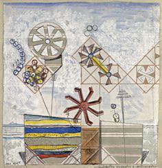 Max Ernst - Kvinnokroppens islandskap, istappar och stenarter, 1920