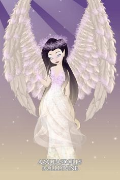 Night Angel ~ by Daisycat ~ created using the Pixie doll maker   DollDivine.com