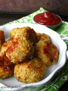 Quinoa Tots by Petit Foodie