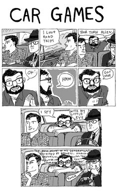 Beat Car Games, from Kate Beaton's Hark! A Vagrant.