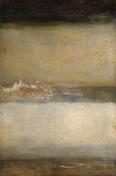 "workman: "" nicotinengravy: Joseph Mallord William Turner, Three Seascapes, 1827 """