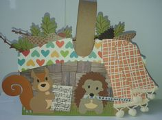 gemaakt door Marielle # patroon Marleen van der Most picknickmand # MD Eline Pellinkhof eekhoorn en egel