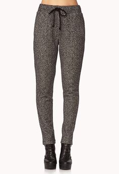 Lounge Ready Heathered Sweatpants | FOREVER21 - 2079257975