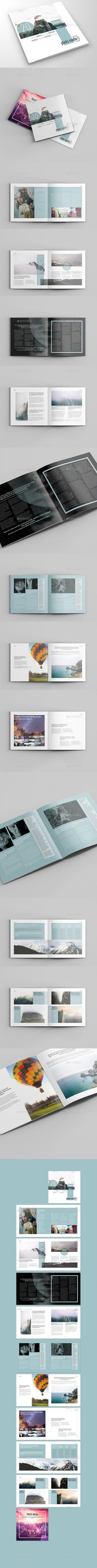 Photo Media Square Catalog & Brochure — InDesign INDD #business brochure #both side • Download ➝ https://graphicriver.net/item/photo-media-square-catalogbrochure/19927711?ref=pxcr