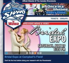Our TICKET WINNERS have been picked for this Saturday's Couple's Bridal Expo and baseball game between the Camden Riversharks and Somerset Patriots Minor League Baseball Club! CONGRATULATIONS to Amber Webb & Drew Berry from Westville, Danielle Davis & Joe Fatali from Runnemede, Valori Ferrigno, Jr. & Chris Arizzi from Westville, Denise Smolar & William Mooney from Williamstown and MaryJo Sernicola & Bob Fisher from Sewell, NJ. Your tickets are in the mail and we'll see you on Saturday...