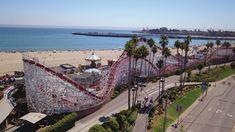 Beach boardwalk Santa Cruz
