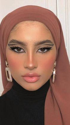 Dope Makeup, Cool Makeup Looks, Edgy Makeup, Creative Makeup Looks, Eye Makeup Art, No Eyeliner Makeup, Pretty Makeup, Skin Makeup, Beauty Makeup