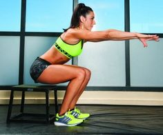 Exercises to Strengthen Knees - Sit to Stand Squat