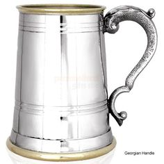 Engraved Brass and Pewter Tankards - Various Designs from Personalised Gifts Shop - ONLY
