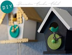 DIY: Decorative CuckooClock - Home - Creature Comforts - daily inspiration, style, diy projects + freebies