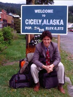 Northern Exposure. I loved this show. Was bummed when it was canceled.