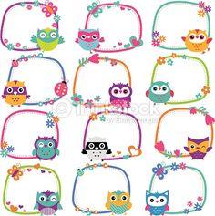 owl frames - Buscar con Google