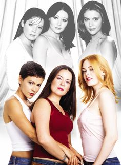 Best Celebrity Couples from the Serie Charmed, Charmed Tv Show, Holly Marie Combs, Rose Mcgowan, Alyssa Milano, Laura Lee, Best Tv Shows, Favorite Tv Shows, Phoebe And Cole