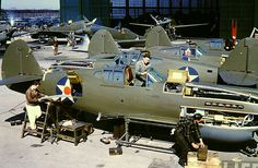 factory of P-40s