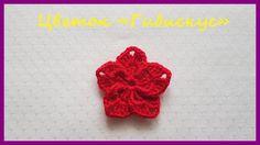 """Вязаный Цветок «Гибискус» ✿ Вязание крючком ✿  Flower """"Hibiscus"""" ✿ Crochet"""