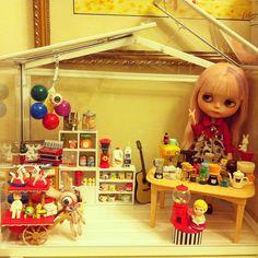 Blythe doll room