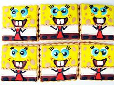 Spongebob Cookies!