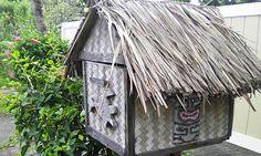 beach hut mailbox