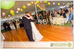 First Dance between Bride & Groom | Wedding Photography at the Eisenhower House |