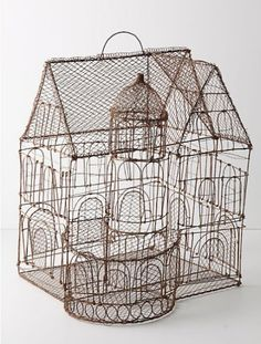 Aviary Castle by Anthropologie.