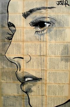 Artist Loui Jover: Take a photo of the student and cut it into several pieces. Give them an equivalent size piece of paper and have them draw all the pieces and then assemble the finished piece when all parts are drawn. Could be done with pictures from magazines or folded paper instead.
