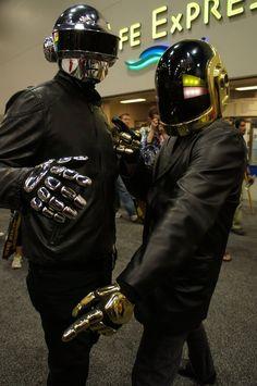 Daft Punk cosplay!