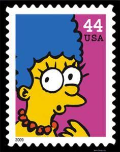 Stamp Postage - Marge Simpson
