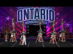 CHEER SPORT SHARKS - GREAT WHITES PRACTICE - JANUARY 2017 - YouTube