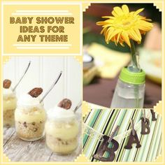 Baby showers can be any theme! Check out these baby shower ideas blog.homes.com/...