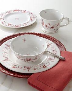 Juliska Country Estate Winter Frolic Dinnerware - Neiman Marcus