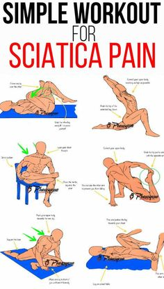 How To Workout With Sciatica Using These 8 Relaxing Yoga Poses That Offer Relief. Louise, Louise, Louise How To Workout With Sciatica . Sciatica Stretches, Sciatic Pain, Sciatic Nerve Relief, Yoga For Sciatica, Health And Wellness, Health Fitness, Health Tips, Health Yoga, Muscle Fitness