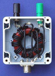 Photo 1 9:1  voltage unun assembled.