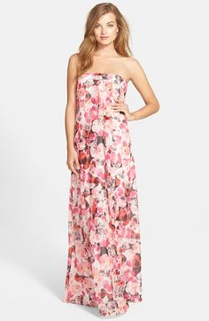 Sam+Edelman+Box+Pleat+Maxi+Dress+available+at+#Nordstrom