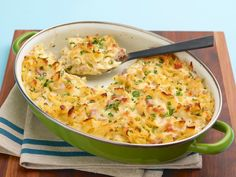 Leave room for this decadent, Venetian-inspired macaroni and cheese. Diced ham and chopped parsley imbue the dish with fresh, springtime flavors.