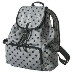 Mossimo Supply Co. Polka Dot Backpack - Gray