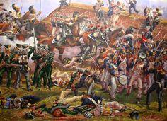 1812 09-07 Borodino - Melee between Russian, German and French - Leonov