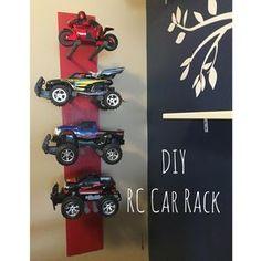 DIY RC Car Rack!
