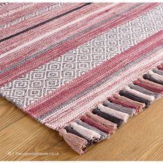 Cream Cushions, Floor Pouf, Floor Rugs, Colour Schemes, Color Palettes, Rug Texture, Striped Rug, Wool Carpet
