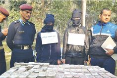 Nepal police arrested 2 suspected behind a robbery in Mumbai, India