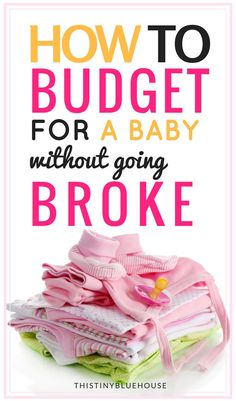 Tips & Tricks to plan and stick to a budget when you're expecting a baby. Babies can get expensive but these actionable strategies can help you prepare financially for baby's arrival without going broke or getting into debt.