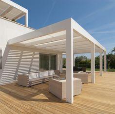 Pergola Ideas For Patio Pergola Attached To House, Pergola With Roof, Covered Pergola, Patio Roof, Pergola Patio, Pergola Plans, Pergola Kits, Gazebo, Backyard