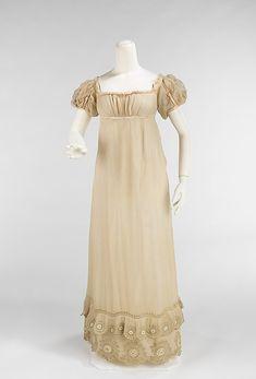 1810 - Silk and Cotton Dress