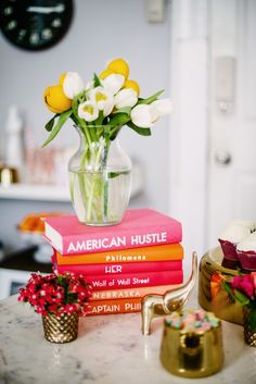 Home Details #sweet #colorful #interiors #design #books #flowers #cute